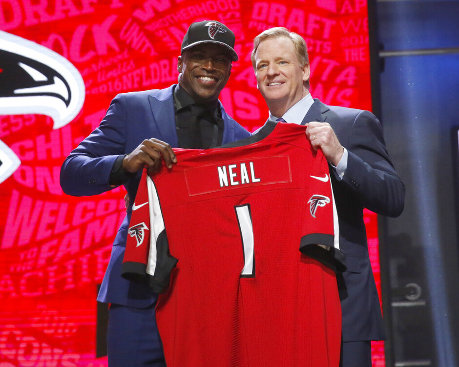 Keanu Neal, Roger Goodell