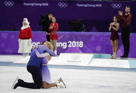 APTOPIX Pyeongchang Olympics Figure Skating Pairs