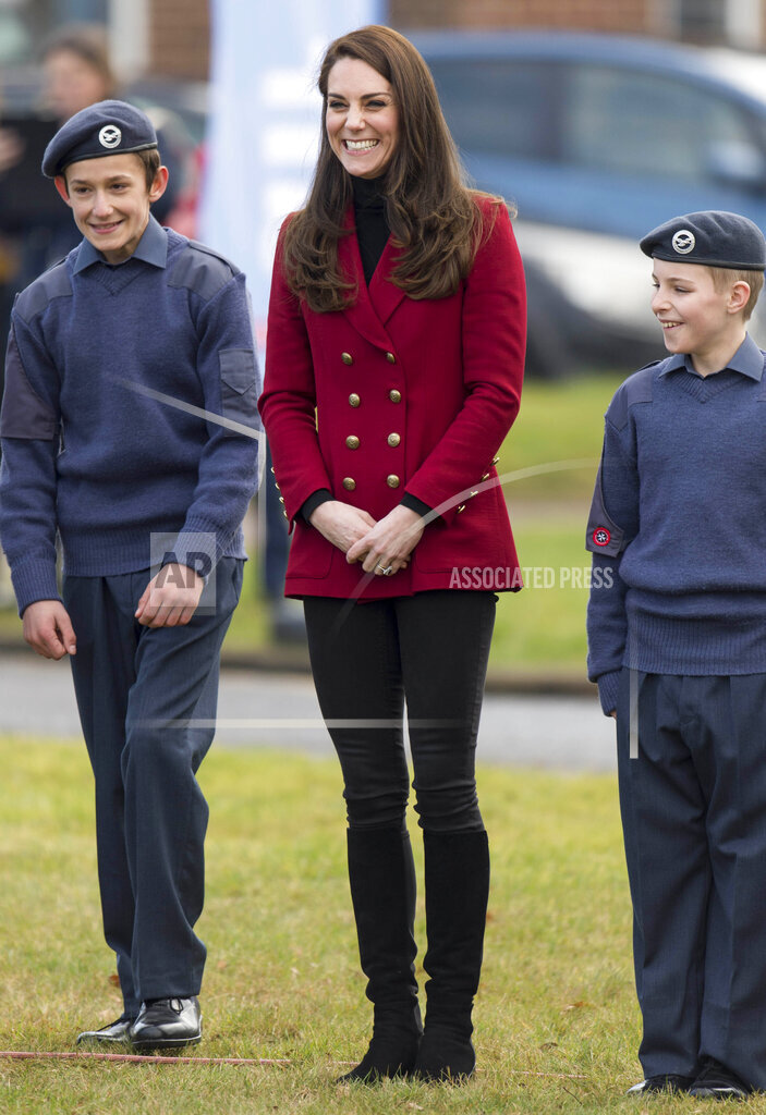 STRMX KGC-178/STAR MAX/IPx A ENT England United Kingdom IPX The Duchess of Cambridge meets with Cadets - 2/14/17