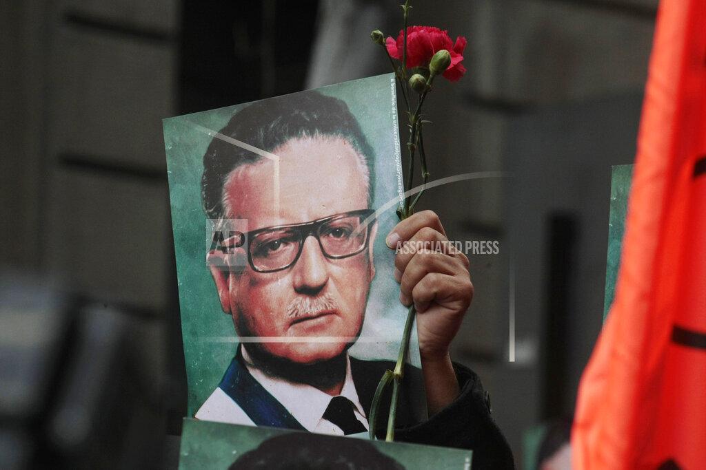 APTOPIX Chile Coup Anniversary