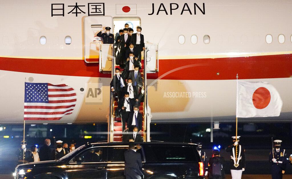US Japan Suga Visit