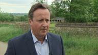 UK PM Cameron Reaction