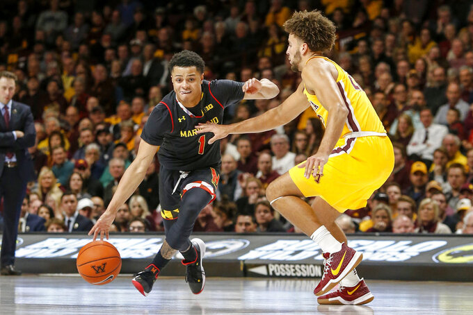 Cowan, Maryland rally on road past Minnesota 82-67