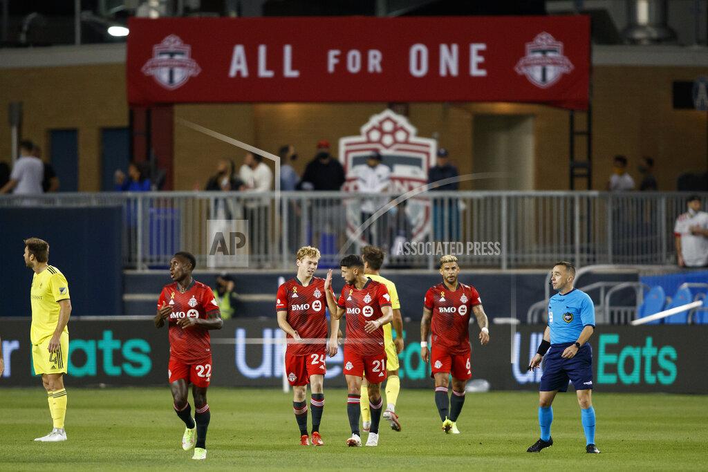 MLS Nashville SC Toronto FC Soccer