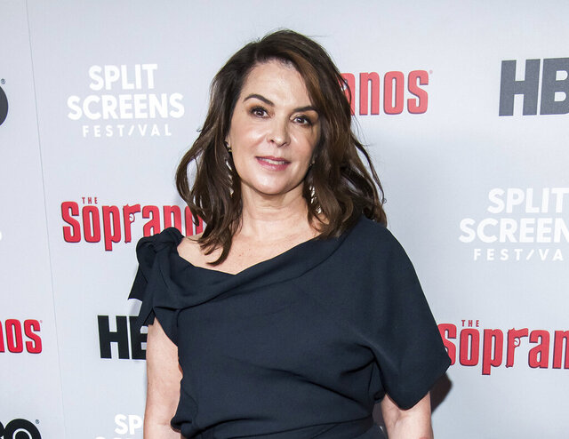FILE - In this Jan. 9, 2019, file photo, Annabella Sciorra attends HBO's