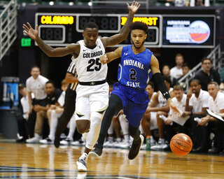 Indiana St Colorado Basketball