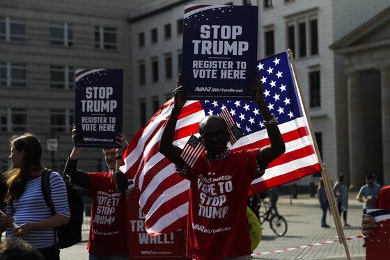 Germany Campaign 2016 Trump