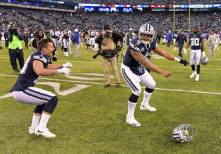 Cowboys Giants Football