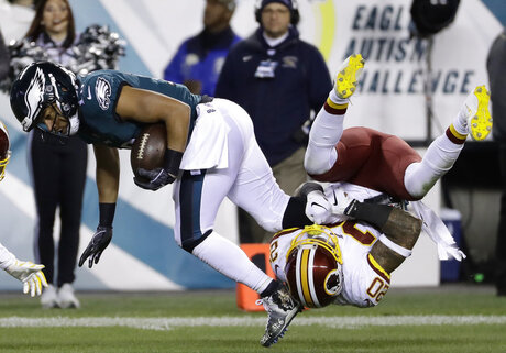 APTOPIX Redskins Eagles Football