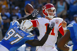 Jeremiah Attaochu, Alex Smith