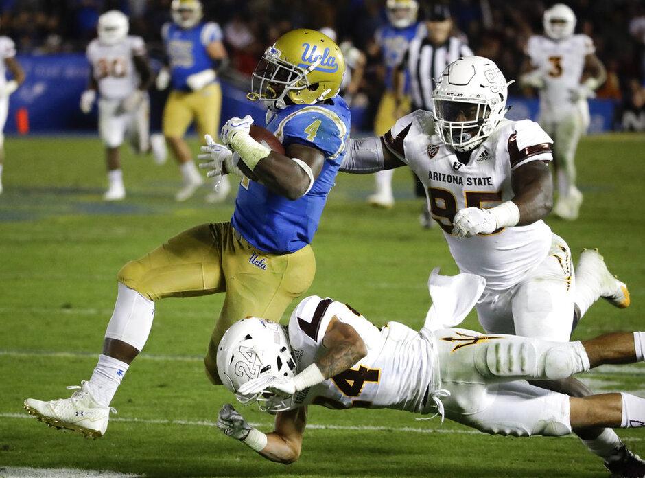 APTOPIX Arizona St UCLA Football