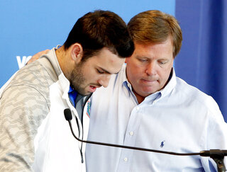 Jim McElwain, Will Grier