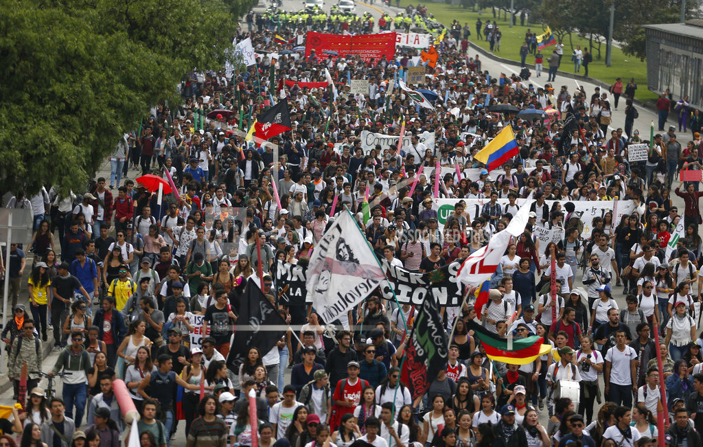 Colombia Student Protest