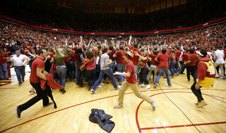 Court Storming Safety Basketball