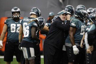 Eagles-Pederson The Protege Football