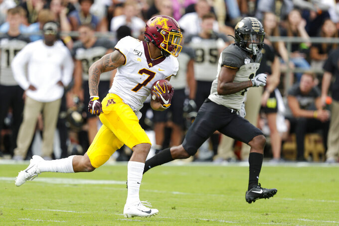 Gophers follow near-perfect script in 38-31 win at Purdue