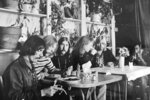 FILE - This undated file photo, shows members of the Allman Brothers Band, from left, Dickey Betts, Duane Allman, Berry Oakley, Butch Trucks, Gregg Allman and Jai Johanny