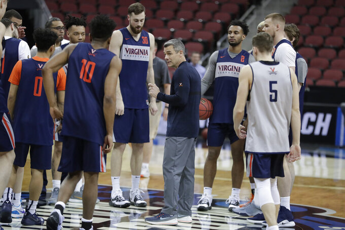 No. 1 Virginia seeks easier path in Sweet 16