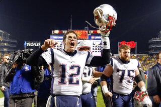 Tom Brady, Ted Karras