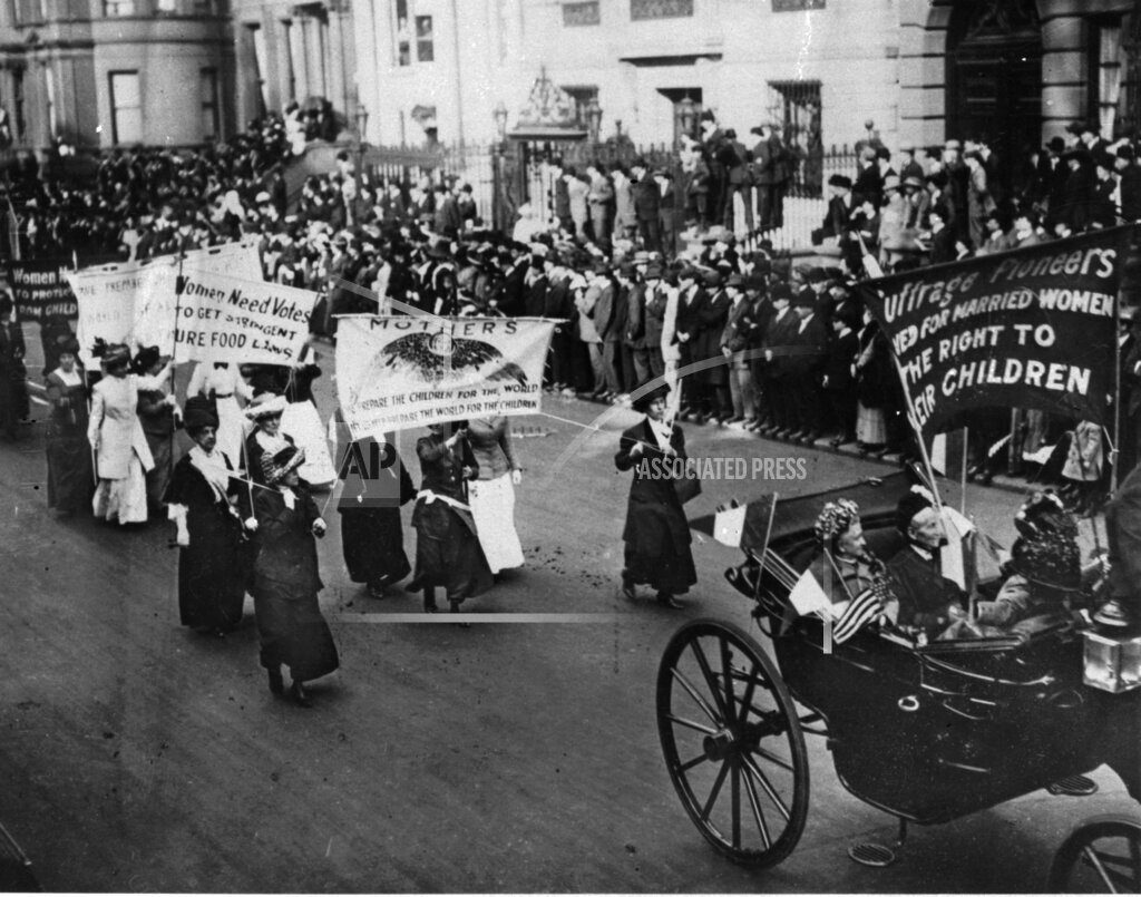 Associated Press Domestic News Dist. of Columbia United States WOMENS MOVEMENT