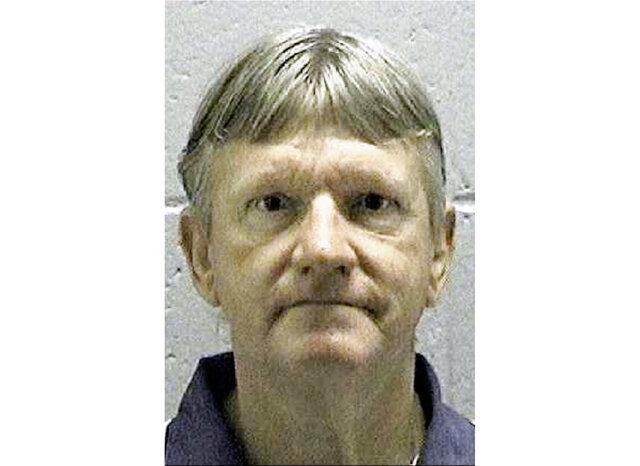 FILE - In this undated file photo released by the Georgia Department of Corrections, shows death row inmate Donnie Cleveland Lance, who was convicted of killing his ex-wife and her boyfriend more than 20 years ago. Lance is scheduled to receive a lethal injection Wednesday, Jan. 29, 2020. The State Board of Pardons and Paroles, the only authority in Georgia that can commute a death sentence, plans to hold a closed-door clemency hearing Tuesday. The board on Monday declassified a clemency application filed by Lance's lawyers. (Georgia Department of Corrections via AP, File)