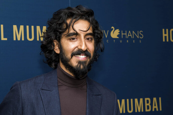 FILE - In this March 17, 2019 file photo, Dev Patel attends a screening of