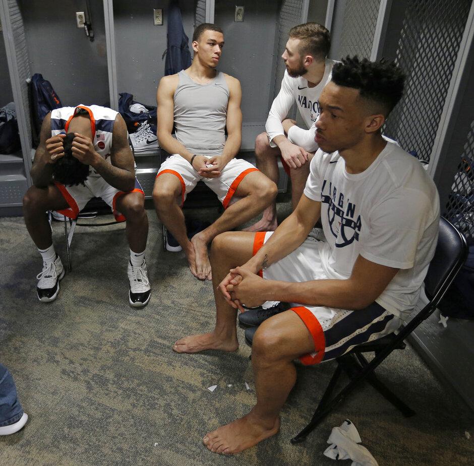 NCAA UMBC Virginia Basketball