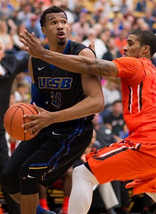 Oregon State-UC Santa Barbara Men's Basketball Game