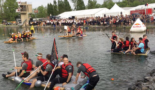 F1 Montreal Raft Race