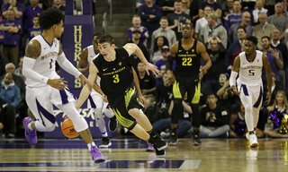 Oregon Washington Basketball