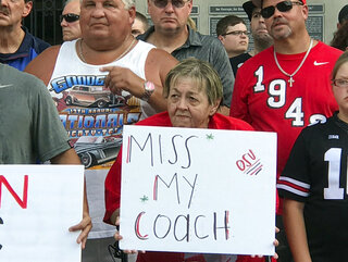Ohio State Practice Opened Football