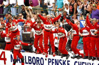 Indy 500 1993 Countdown Race 77 Auto Racing