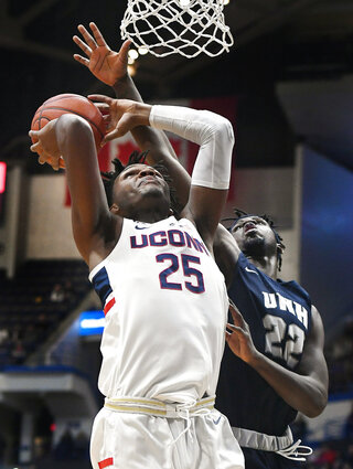 New Hampshire UConn Basketball
