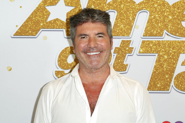 FILE - In this Sept. 18, 2018, file photo, Simon Cowell arrives at the