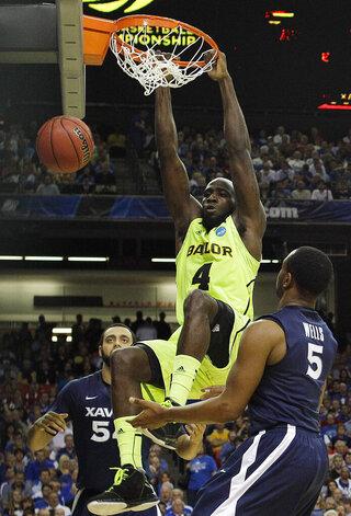 NCAA Baylor Xavier Basketball