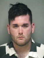 FILE - This undated file photo provided by the Albemarle-Charlottesville Regional Jail shows James Alex Fields Jr. Fields, convicted of first-degree murder for driving his car into counterprotesters at a white nationalist rally in Virginia faces 20 years to life in prison as jurors reconvene to consider his punishment. The panel that convicted Fields will hear more evidence Monday, Dec. 10, 2018, before recommending a sentence for Judge Richard Moore. (Albemarle-Charlottesville Regional Jail via AP, File)