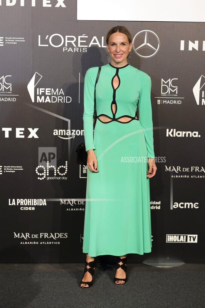 Fernando Claro's fashion show at Mercedes-Benz Fashion Week Madrid 2021