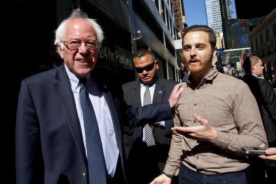 Bernie Sanders, Micahel Cantalupo