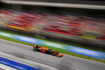 Red Bull driver Max Verstappen of the Netherlands steers his car during the Spanish Formula One Grand Prix at the Barcelona Catalunya racetrack in Montmelo, just outside Barcelona, Spain, Sunday, May 9, 2021. (AP Photo/Emilio Morenatti)
