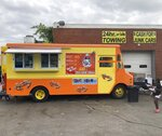 The Crab Cravers food truck is pictured at its grand opening event in Wilmington, Del., on Sunday, July 18, 2021. (José Ignacio Castañeda /The News Journal via AP)