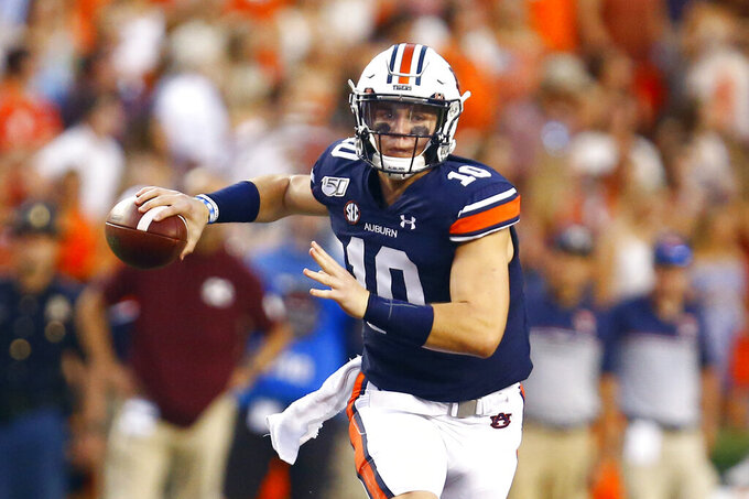 Auburn, Florida showcase 'big-boy ball' in top-10 matchup