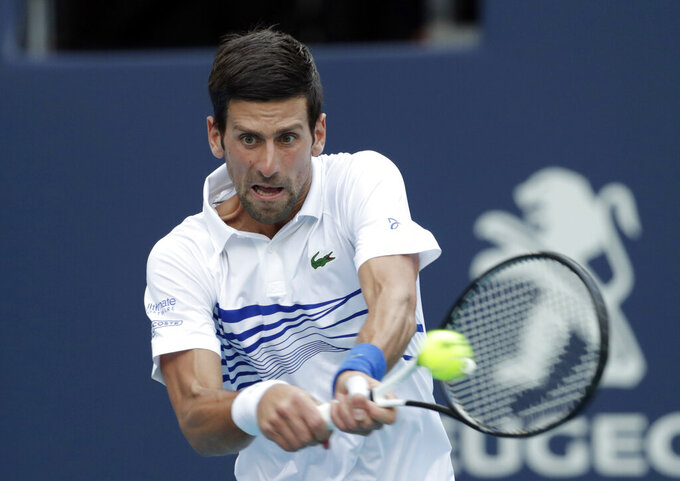 Djokovic beats Delbonis in 3rd round at Miami Open
