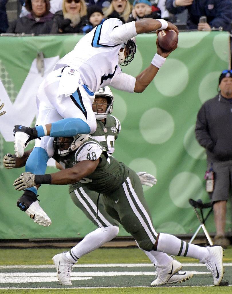 APTOPIX Panthers Jets Football