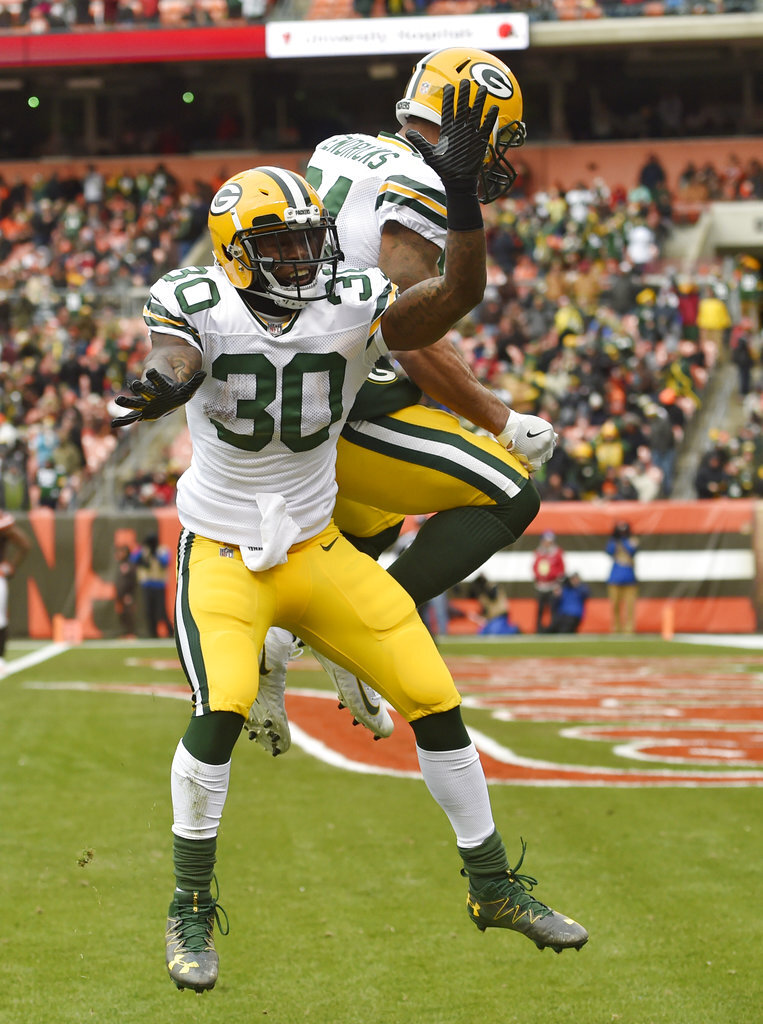 Jamaal Williams, Lance Kendricks