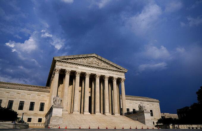 FILE - This May 26, 2021, file photo shows the Supreme Court in Washington. (AP Photo/J. Scott Applewhite, File)