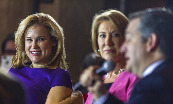 Ted Cruz, Heidi Cruz, Carly Fiorina