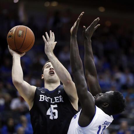 Butler Seton Hall Basketball