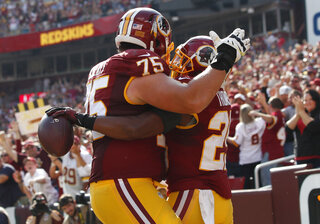 Brandon Scherff, Chris Thompson