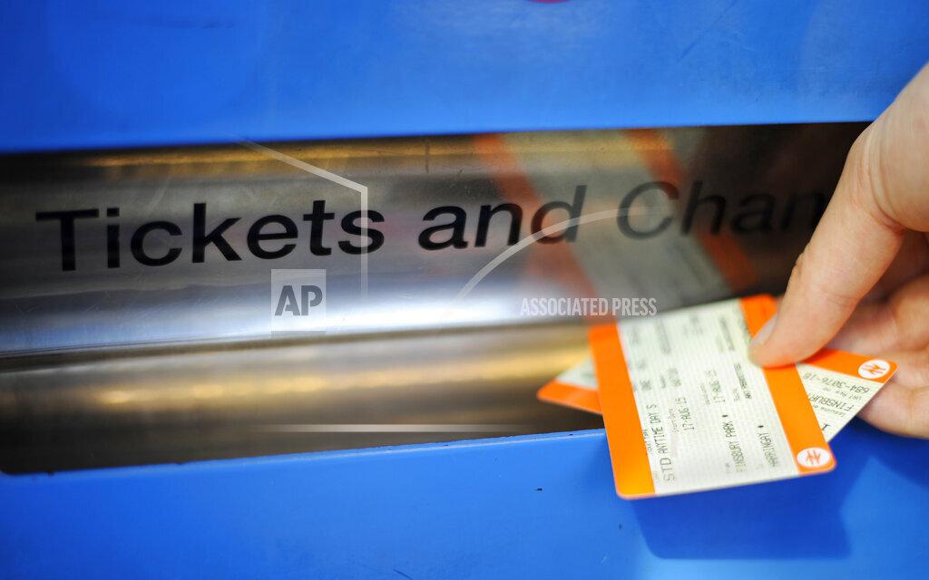 Rail ticket prices
