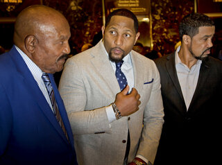 Jim Brown, Ray Lewis, Darrell Scott,